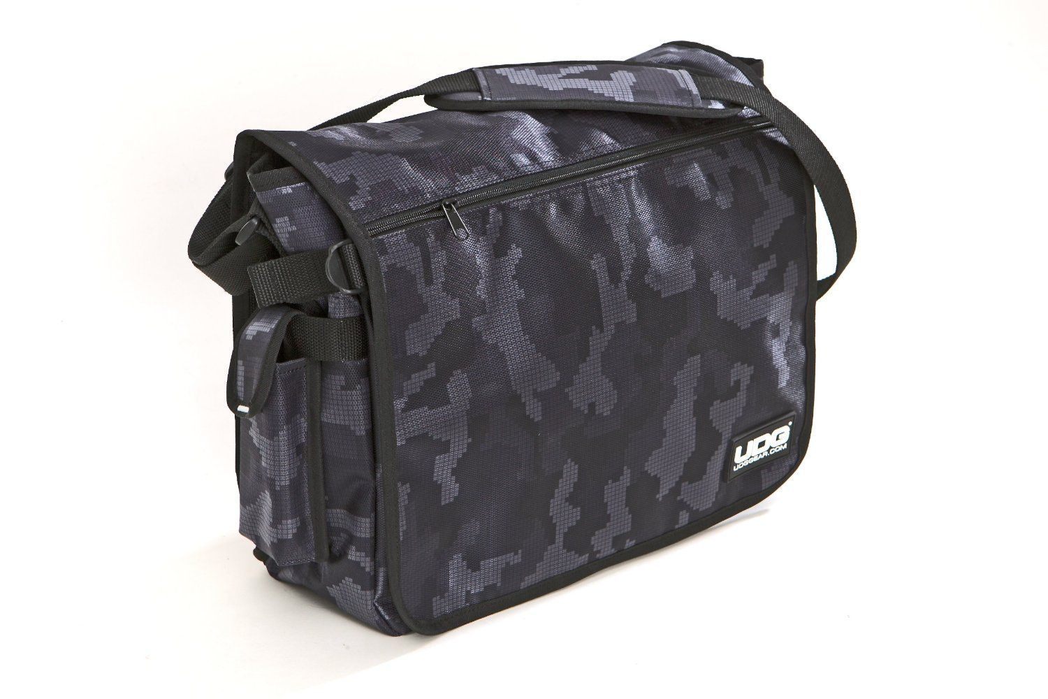 Ultimate CourierBag Digital Camo Grey