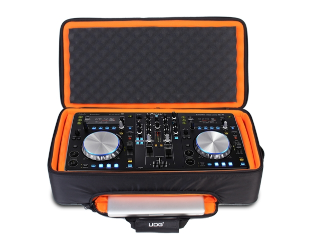PIONEER Набор XDJ-R1 + UDG Ultimate Midi Controller Backpack Large Black/Orange inside