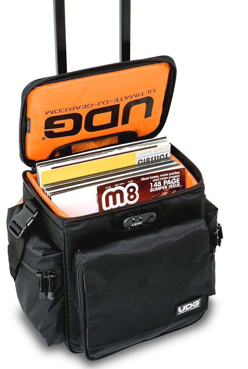 0269c8069134 Купить UDG Ultimate SlingBag Trolley Set DeLuxe Black/ Orange inside ...