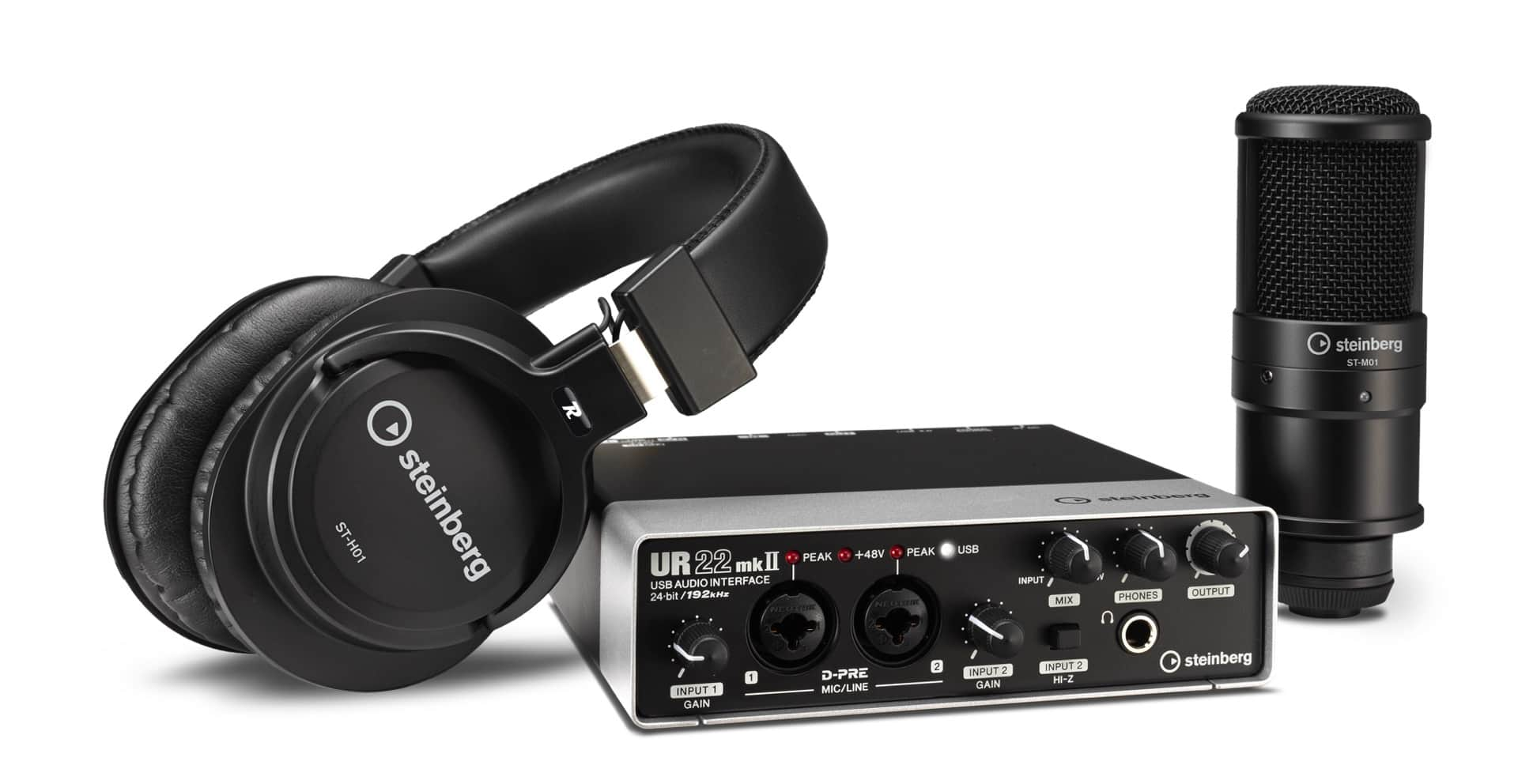 UR22 mkII Recording Pack