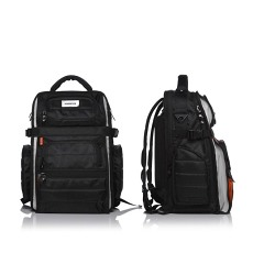 Ultimate BackPack Black/Orange inside